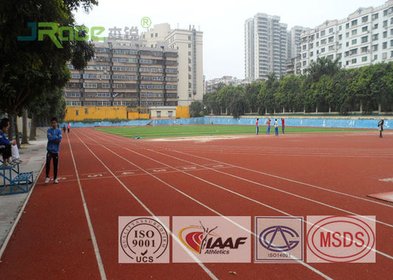 400 Meter Running Track Flooring Tartan Sports Field For Athletic Facilities Sport