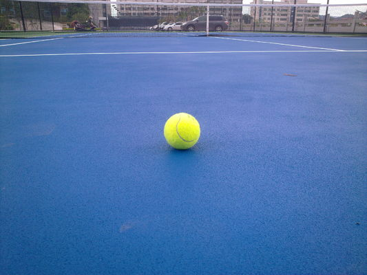 3MM Thickness Acrylic Tennis Court Surface / Outdoor Court Flooring