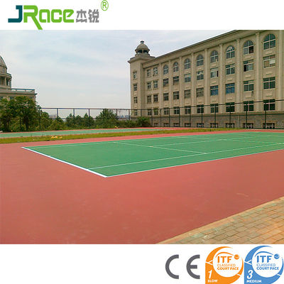 Customized Blue Surface Outdoor Sport Court Flooring For Tennis Game