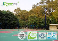 Silicone PU Athletic Court Outdoor Play Surfaces Durable Liquid Coating State