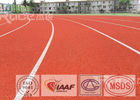 China Synthetic Rubber SPU Track and Field Flooring UV Resistance For Tartan Track factory