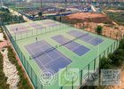 Multi Use Sports Court Flooring , Tennis / Badminton / Basketball Court System