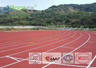 Wear Resistant Running Track Flooring Permeable For Outdoor Stadium