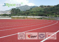 Solvent Free Outdoor Running Track Surface Without Heavy Metals , Synthetic Track For Running