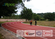 China Carbon Structure Tartan Track Surface Water Permeable For Children / Adult Running factory