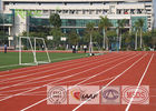 China Full Pour Running Track Flooring , Prefabricated Rubber Athletic Track Anti UV factory