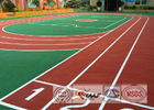 Weather Resistance Athletics Running Track SW System With Environmental EPDM