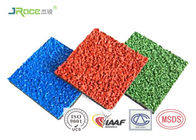 SBR And Colored Epdm Rubber Granules Customized For Artificial Grass Filling