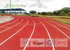Athletic Rubber Jogging Track Sport Surface Anti Friction For Outdoor Sport Arena