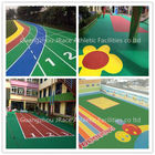 China Colorful Granules EPDM Rubber Flooring For Kindergarten And  Children Playground factory