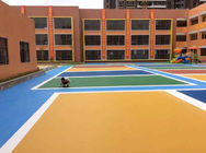 Kindergarten Outdoor Playground Epdm Rubber Granules Flooring Materials