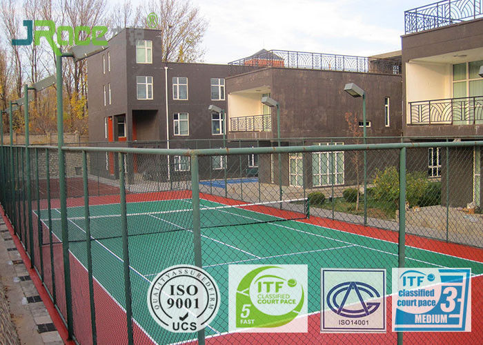 Eco Friendly Exterior Basketball Court Surfaces Gym Anti Slip Floor Tiles