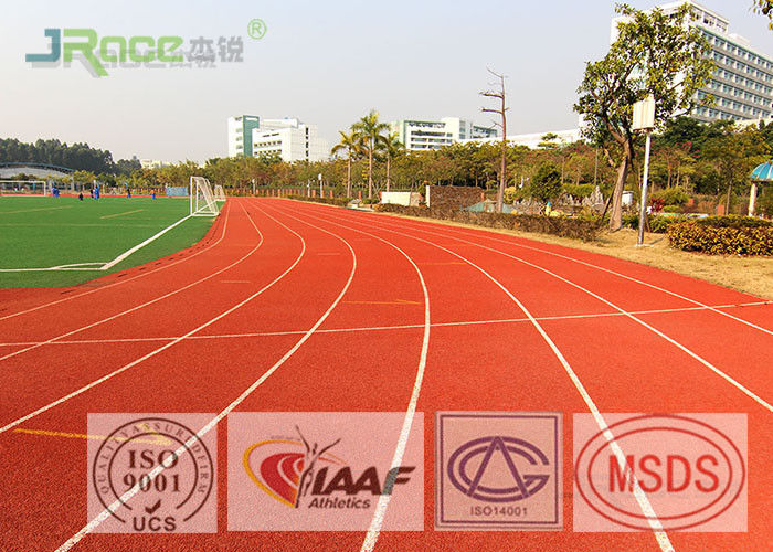 Sandwich Type Synthetic Athletic Running Track For School Track