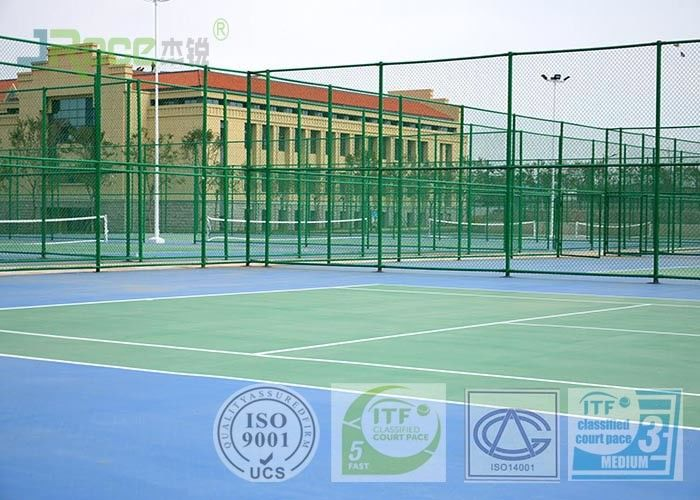 Environmental All Weather Tennis Courts , Backyard Multi Sport Court Flooring