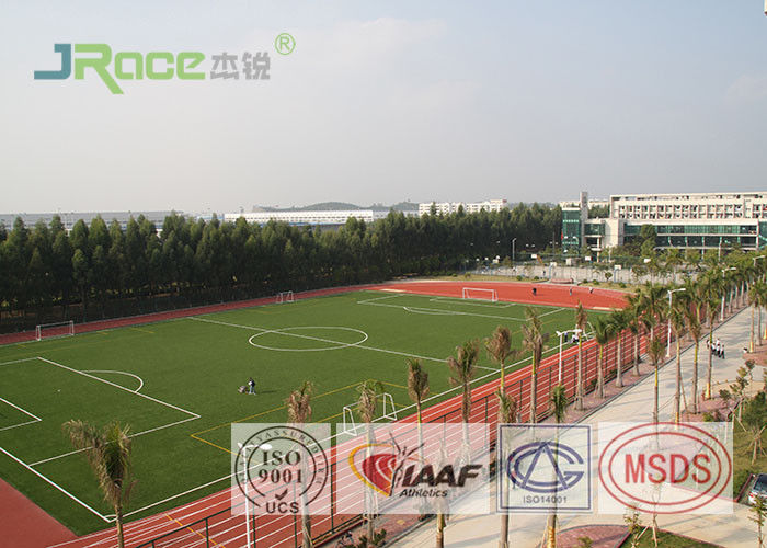 Water Based Synthetic Track Surface Weather Resistant Mixed Sports Playground
