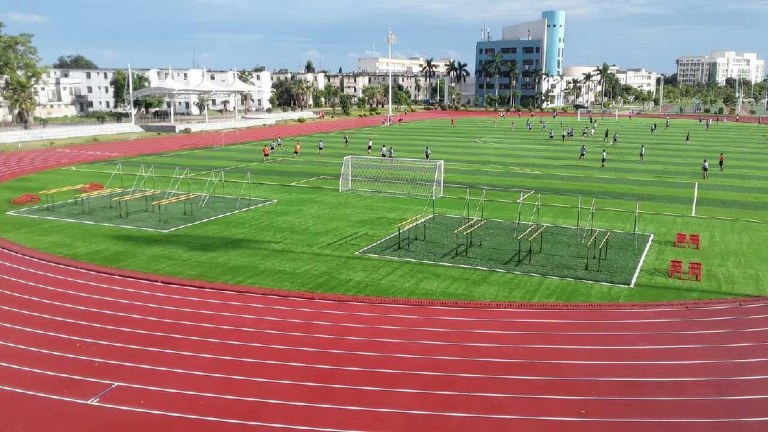 Sandwich System Running Track And Field Surface Coating For Stadium