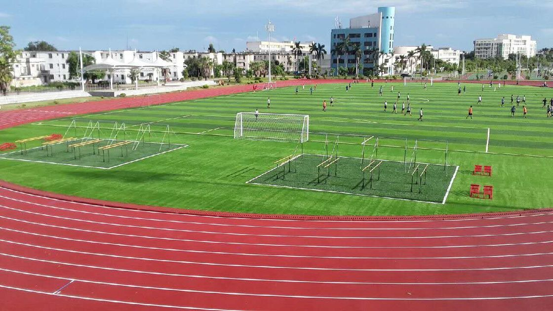 IAAF Certificated Rubber Synthetic Athletics Running Track Wearing Resistance