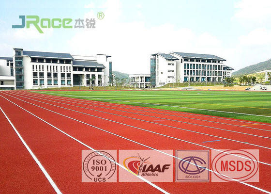 China Standard Tartan Track Surface Polyurethane Resin Material Flame Resistant factory