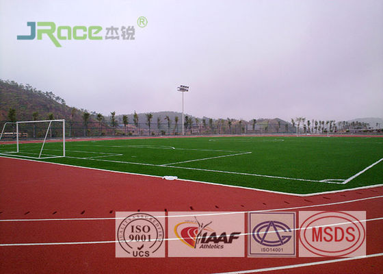 China ECO Friendly Tartan Track Surface Non Toxic Anti Fade For High School / College factory