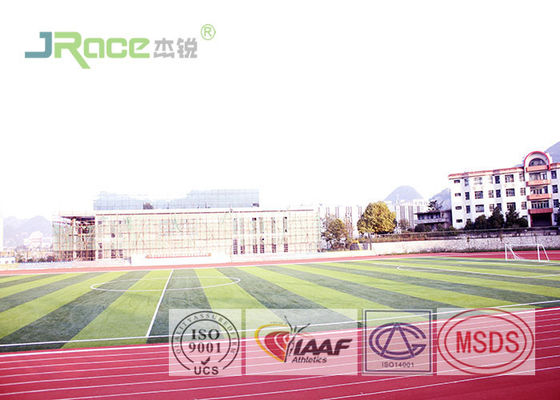 China Synthetic Athletic Tartan Track Surface Eye Protection Playground Shock Absorption factory
