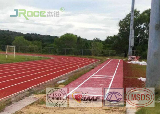 China High Performance Tartan Track Surface Sandwich System Harmless To Humans factory