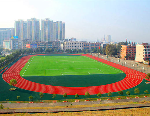 China 13MM Thickness Athletic Polyurethane Track Surface IAAF Approved factory