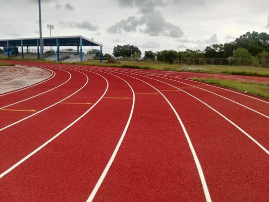 Rubber Running Track Material