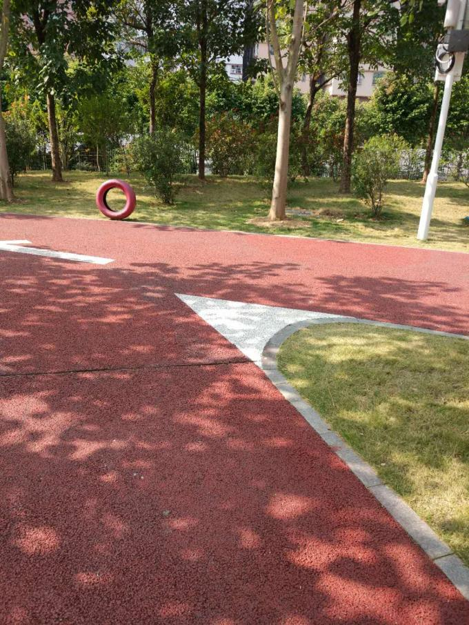 Public Park Athletics Running Track Surface Flooring Environmentally Friendly