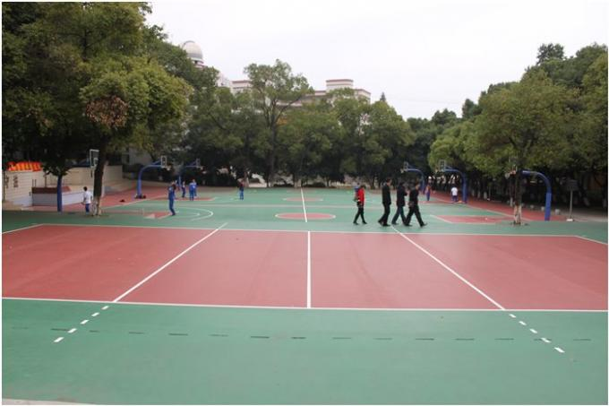 Economic Athletic Sports Tennis Court Surfaces For School ITF Certificated